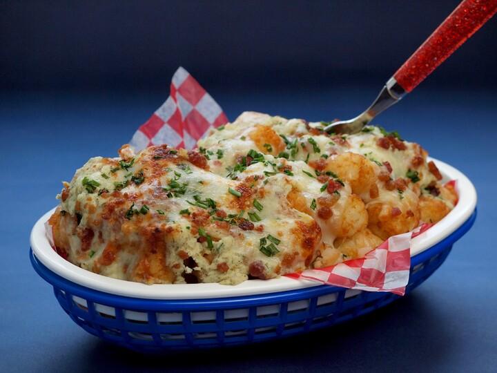 Loaded Idaho® Potato Baked Tot'chos