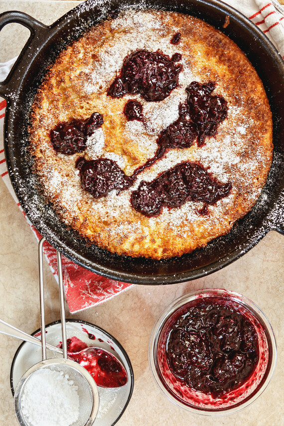 Dutch Baby Pancakes with Idaho® Potatoes
