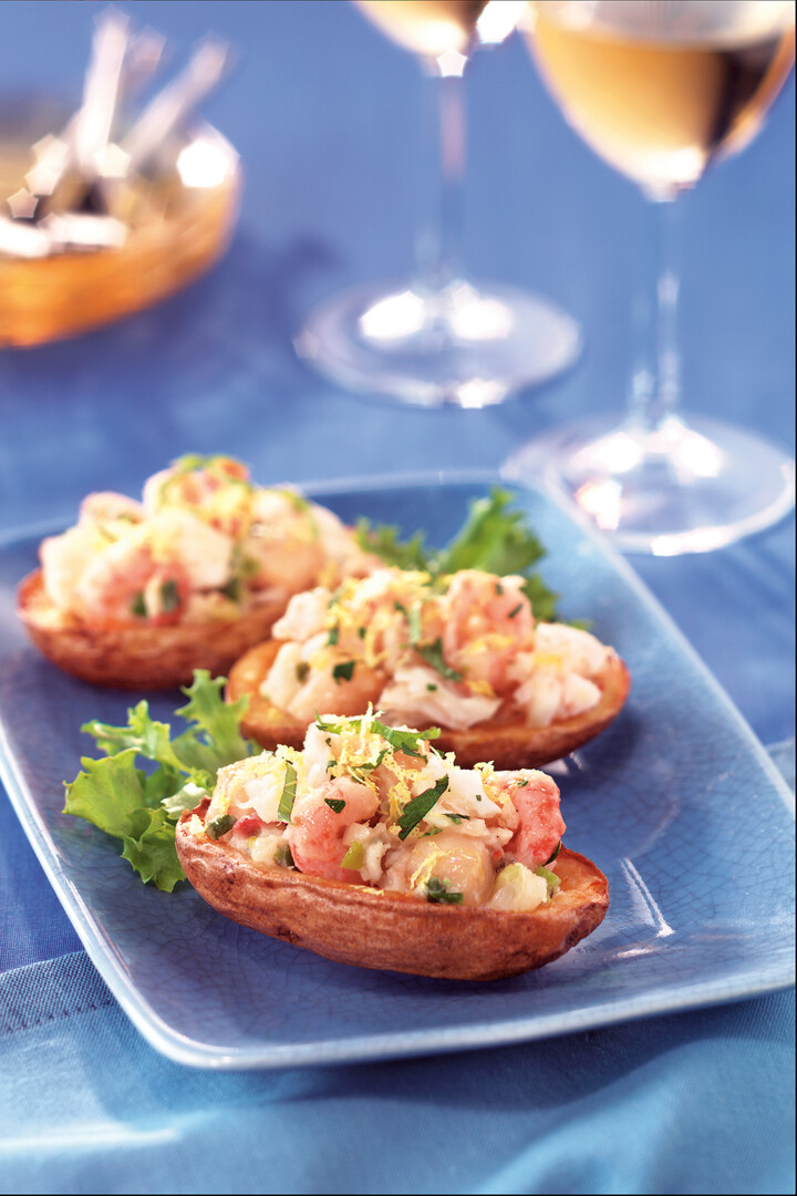 Seafood Stuffed Idaho® Potato