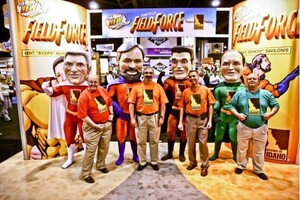 "Idaho Potato Commission ""Superheroes"" Attract Thousands at PMA Fresh Summit"