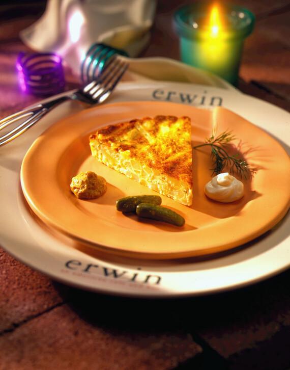 Potato-Onion Cheese Tart
