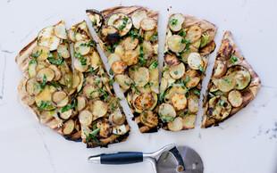 Idaho® Potato Grilled Pizza