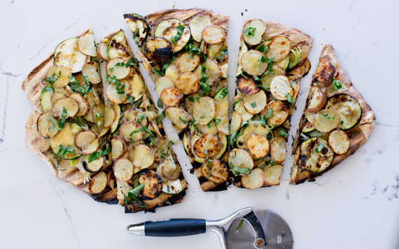 Idaho® Potato Grilled Pizza