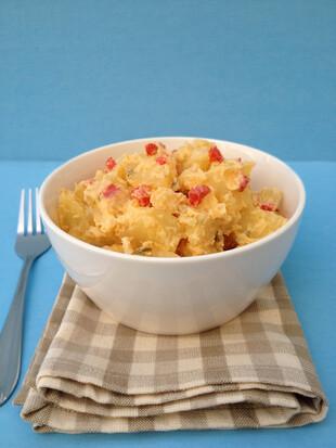 Quick Potato Salad for One