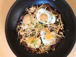 Russet Idaho® Potato Rosti with Cholula® Hollandaise