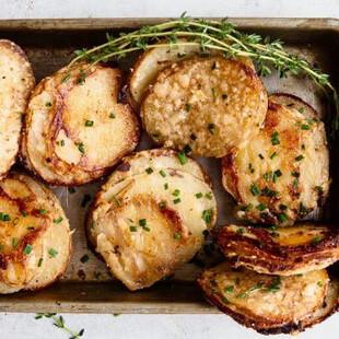 Muffin Tin Idaho® Potato Gratin