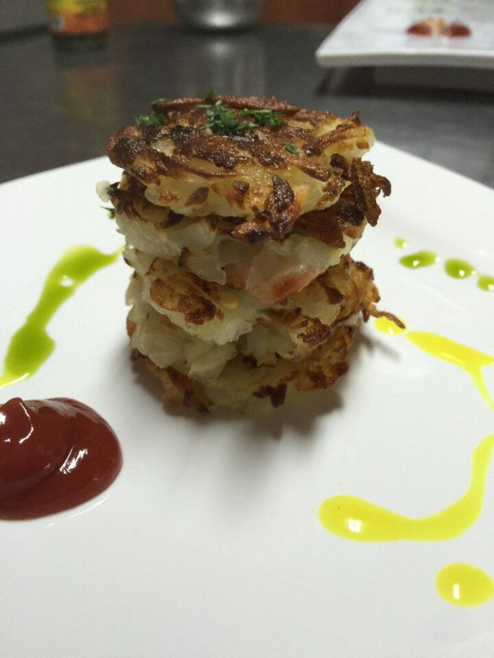 Idaho® Potato and Apple Pancakes