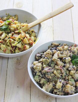 Idaho® Potato Salad 2 Ways