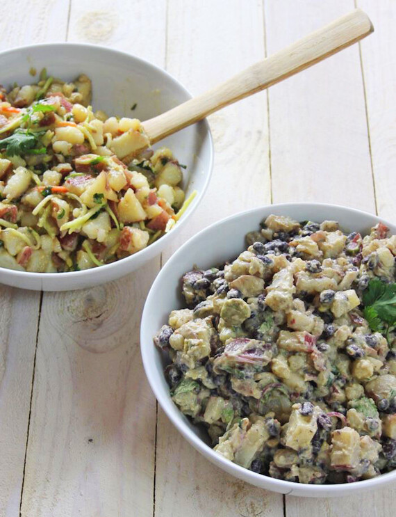 Idaho® Potato Salad 2 Ways