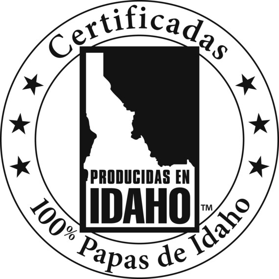 Certified Trademark Logo Spanish Black