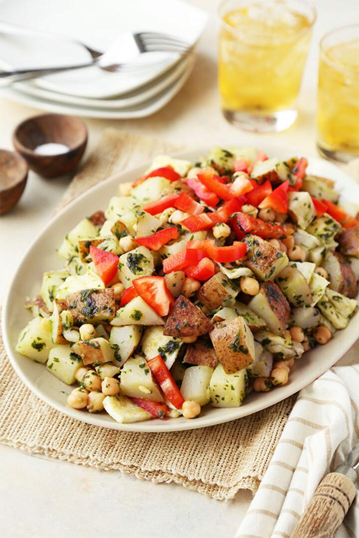 Heart-Healthy Chopped Idaho® Potato Breakfast Salad