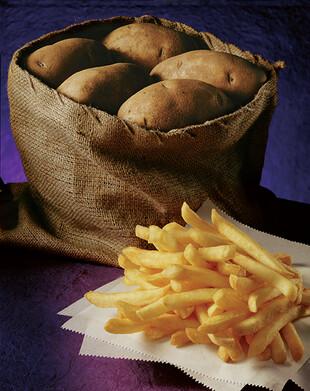 Fries + Fresh Idaho® Potatoes