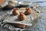 Idaho® Potato and Steak Mini Eggrolls with Creamy Steak Sauce