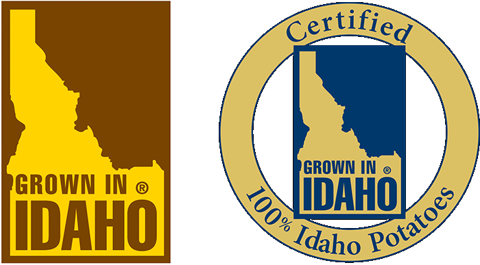 Grown in Idaho symbols