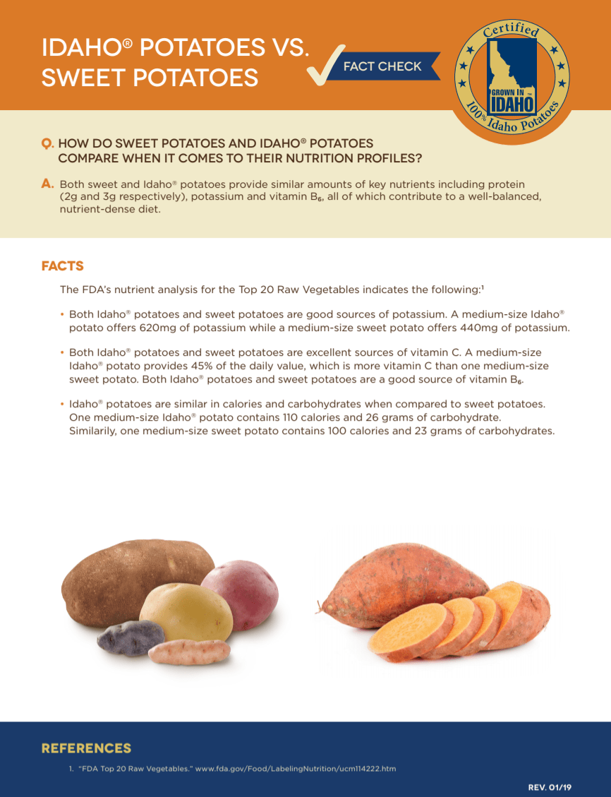 https://idahopotato.comhttps://cdn.idahopotato.com/uploads/media/fact-sheet-idaho-potatoes-vs-sweet-potatoes.pdf