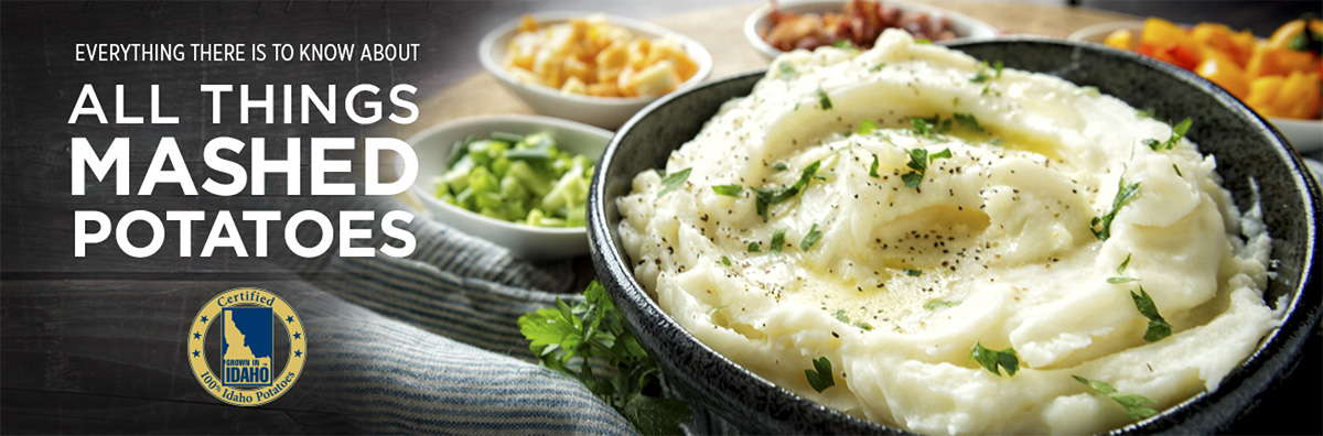 All Things Mashed Potatoes Banner