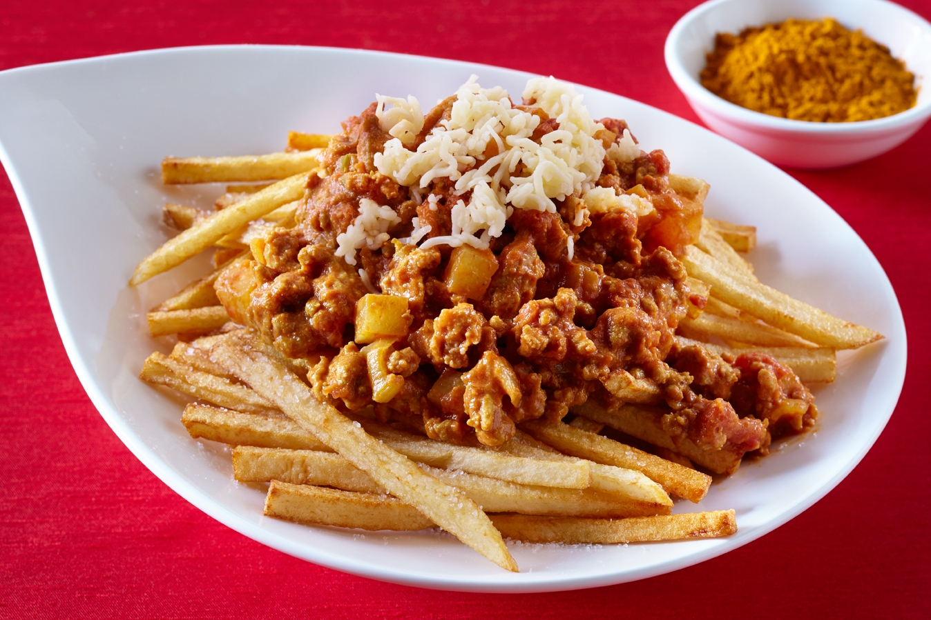 Bombay Chili Cheese Fries
